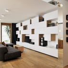 A Compact Minimalist Apartment in Slovenia