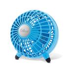 Small desktop fan by Katz in blue