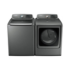 WA9000 dryer and top-load washer
