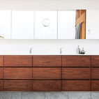Get the Look: Wood Bathrooms
