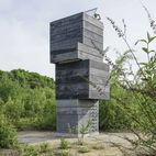 Inside This Modern Tower Is an Idyllic One-Man Sauna