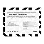 Join Dwell and Volvo in a Conversation about the Future of Los Angeles