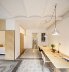 1930s Barcelona Apartment Gets a Minimal Makeover