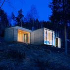 Amazingly Idyllic Wood Cabins in Norway