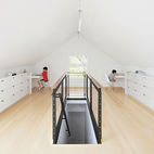Amazing Transformation of a Musty Attic Into a Luminous Loft