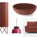 Matching Home Decor to Pantone's 2015 Color of the Year: Marsala