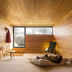 Rooms Completely Wrapped in Wood