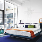 5 Bold Glass Bedrooms