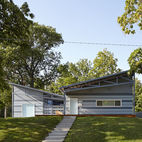 Habitat for Humanity Home in Kansas Channels Midcentury California