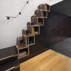 A Creative Staircase for a Compact NYC Loft