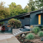 Midcentury Renovation in Portland Capitalizes on Nature with Seven Doors to the Outside