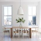 Serene All-White Rooms