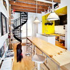 An Efficient Live-Work Space in Montreal