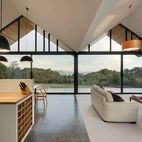 Picture This: Warm Weather, Modern House, Big Glass Window