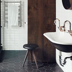 Black-and-White Bathroom Inspiration