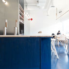 Blue Never Looked Better Than In This Modern Vancouver Restaurant