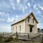 1830 Schoolhouse Salvaged as a Cozy Cabin