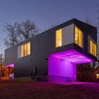 This Illuminated Arkansas Home Changes Colors with the Tap of a Smartphone
