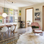 Historic Details and Playful Modernism Meet in this Stunning Barcelona Flat