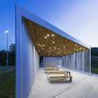 Architecture Students Design and Build a Modern Prefab Fieldhouse
