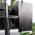 Charred Cedar Wraps A Stunning Minimalist Addition in Norway