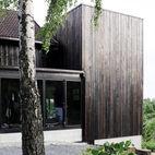 Charred Cedar Wraps A Stunning Minimalist Addition in Norway