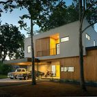 A Mighty Oak Tree Frames This Family Home in Austin