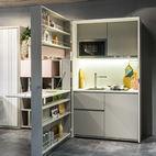 Genius Unfolding Kitchen Tucks Neatly Into Small Spaces