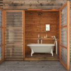 10 Ways to Use Wood in the Bathroom
