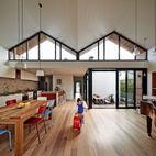 A Unique Roofline Draws Light Into This Melbourne Home
