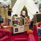 Explore the Modern Family Pavilion at Dwell on Design 2015