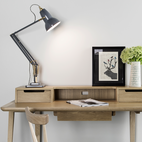 Classic Desk Lamp from 1934 Remade with Modern Details