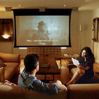 8 Homes with Space-Saving Digital Projectors
