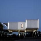 This Futuristic Prefab in Spain Has All the High-Tech Gizmos of a Spaceship