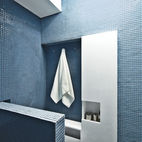 12 Bathrooms with Blue Tile