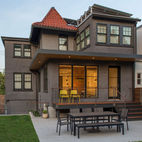 A Smart Modern Remodel of a Traditional DC House