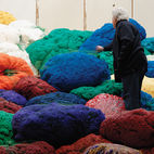 Sheila Hicks's Sunbrella Color Riot in Paris