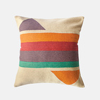 modern furniture products bright colors leah singh technicolor pillow