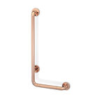 copper kitchen and bathroom fixtures include Programma CU line L safety support by PBA