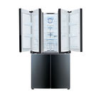 Modern energy efficient kitchen appliances like LG double door-in-door refrigerator