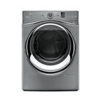 Modern energy efficient kitchen appliances like the Whirlpool Hybridcare Duet dryer with heat pump