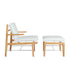 Finn Lounge Chair and Ottoman