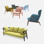 5 Framed Sofas and Armchairs