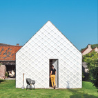 Inexpensive Gabled Garden Shed in Belgium