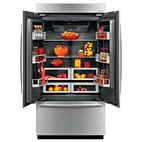 modern kitchen appliances like the Jenn-Air french-door refrigerator