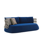Essential outdoor products like the steel Fat Sofa by Patricia Urquiola for B&B Italia