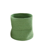 Essential outdoor products like the Rope basket by Ligne Roset made of woven recycled plastic
