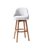 Saddle bar and counter stool