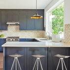 This Farmhouse-Style Home Gets a Clever and Geometric Update