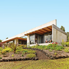 Modern Hawaii House Built on Lava Flow